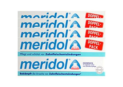 4x MERIDOL Doppelpack (2x 75ml) Zahnfleischschutz Zahnpasta - NEU & OVP