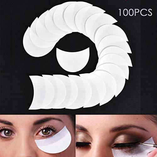 Wallfire Einweg Lidschattenschild-Schutzpolster für Augenlippen Make-up-Anwendungswerkzeug (Size :...