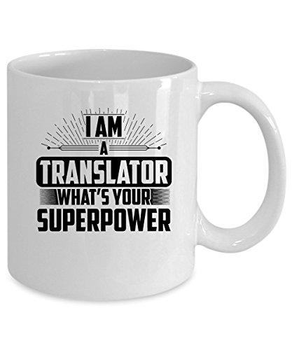 Translator Coffee Mug 15 oz. Translator gift