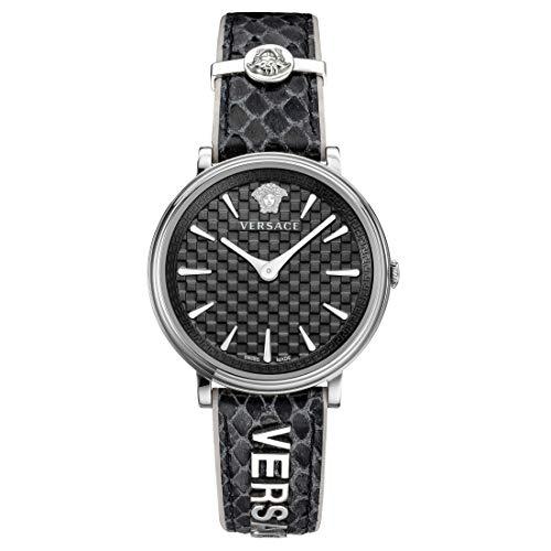 Versace-Uhr V-CIRCLE silber - (VE8100919)