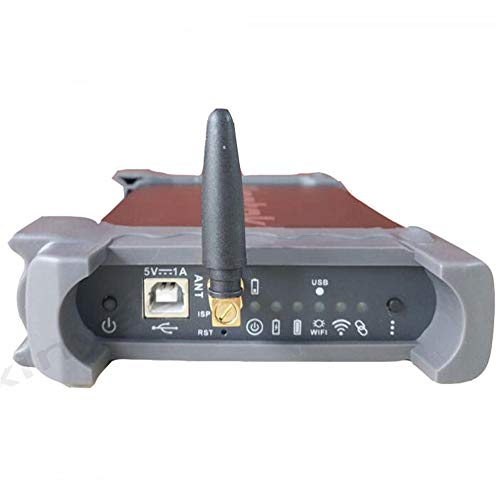 LJPzhp Digitales Oszilloskop WiFi USB 70MHz 2channels 250MSa / s Speicher Oszilloskop Geeignet for iOS Andrioid-PC-Systeme (Farbe : Schwarz, Größe : Einheitsgröße)