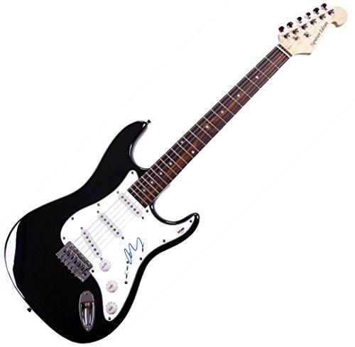 Norah Jones Autographed Guitar EXACT VIDEO PROOF UACC AFTAL COA PSA DNA