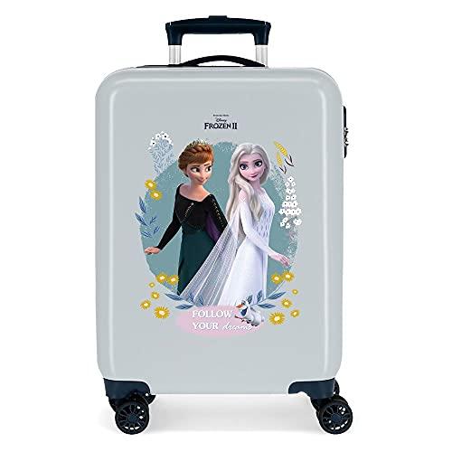 Disney Frozen Follow Your Dreams cabine trolley blauw 38 x 55 x 20 cm harde schaal ABS zijcombinatieslot 34 2 kg 4…
