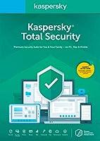 Kaspersky KL1919AOCFS-1821UZCトータルセキュリティ2018 3デバイス/ 1年[Key Code]