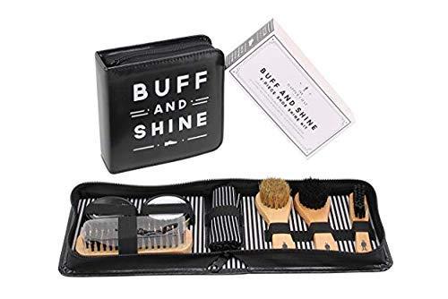 Gossip Beads Le Dapper CHAP 'Buff & Shine' Chaussure kit de Nettoyage