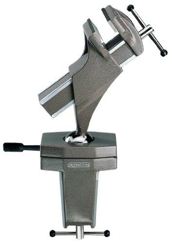 Bernstein Werkzeug GmbH 9-225 Spannfix MAXI zum Anschrauben, silbergrau-metallic