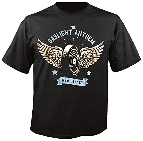 The Gaslight Anthem - Winged Wheel - T-Shirt Größe L