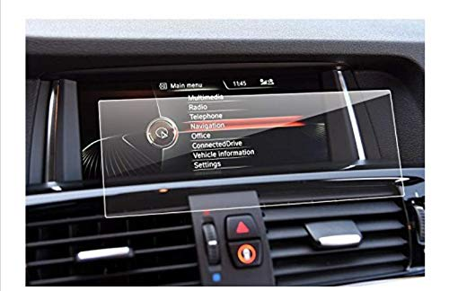 LFOTPP Car Navigation Screen Protector for BMW X1 X3 X4 X5 X6 M40i 8.8-Inch, Tempered Glass 9H Hardness Car Infotainment Stereo Display Center Touchscreen Protective Film