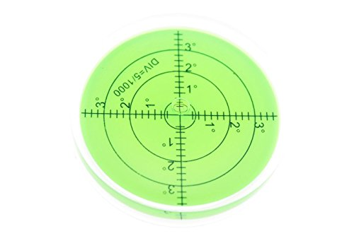navire大型メモリタイプ水平器水準器傾斜測定アナログ丸型