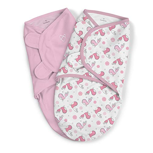 Svøb fra Summer Infant - SwaddleMe - Tweet Tweet 2-pak (0-3m)