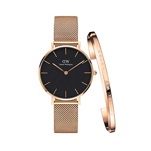 Daniel Wellington Iconic Link, Reloj Oro Rosado, 32mm, Acero Inoxidable, para Mujer