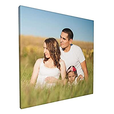 Custom Wall Art For Living Room Bedroom Personalized Canvas Prints With Travel Party Family Friend Photos Room Decor Gifts For Birthday Mothers'Day Fathers'Day square-12x12 Inch