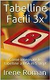 Tabelline Facili 3x: Come insegnare le tabelline a DSA in 5 step!