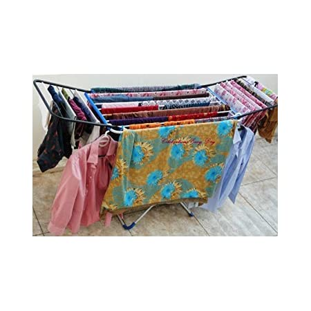 CELEBRATIONS Easy Dry Prime - Alloy Steel Heavy Duty Cloth Dryer Stand, Multicolor