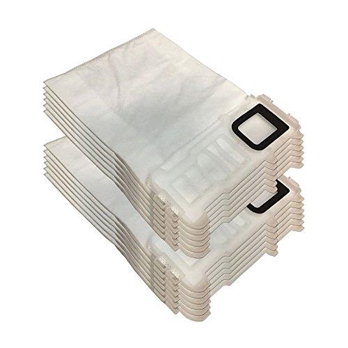 12 bolsas y bolsitas (Microfibra para aspiradora) Vorwerk Kobold VK duende 135, 136, VK135 VK136