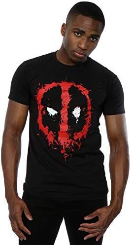 Marvel Deadpool Splat Face Camiseta para Hombre