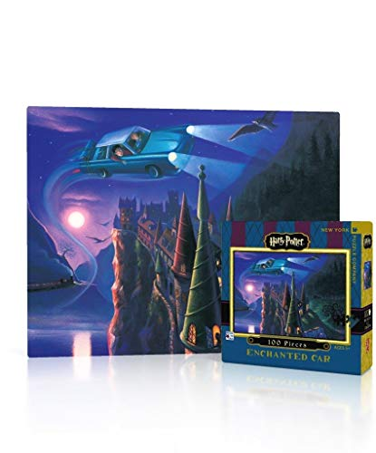 New York Puzzle Company Harry Potter The Enchanted Car Mini 100 Piece Jigsaw Puzzle