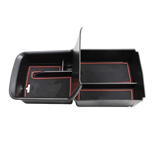 AXYP Car Apoyabrazos Caja Almacenamiento, para CRV 2017-2019 Armrest Antideslizante Doble Capa Consola Central Organizador Bandeja, Coche Central Storage Box Estilo Accesorios
