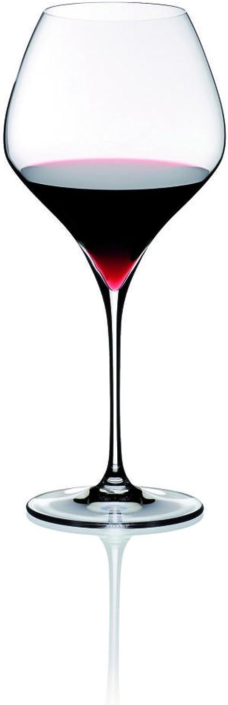 Riedel Vitis Pinot black Glass, Set of 2