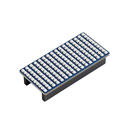 RGB Full-Color LED Matrix Module Panel For Raspberry Pi Pico Series, Adjustable 256 Level Brightness, 16×10 RGB Leds