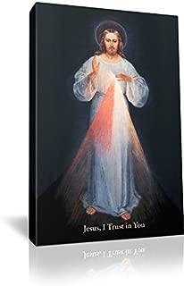 St Joseph Communications Divine Mercy (Vilnius) - Gallery Wrapped - 5 x 8