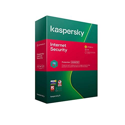 Kaspersky Internet Security 2021 (3 Postes / 1 An)
