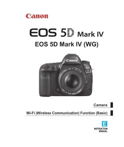 Manual de instruções Canon EOS 5D Mark IV