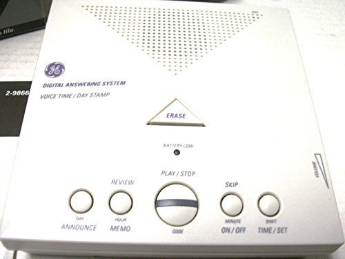 GE Answering Machine - Fully digital with voice Time/Day Stamp