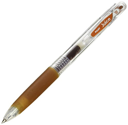Pilot Juice 0.38mm Gel Ink Ballpoint Pen, Brown (LJU-10UF-BN)