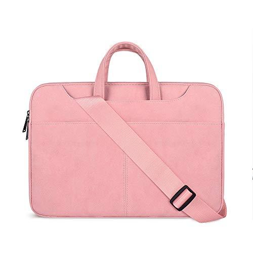 BCXS Laptoptasche Gepäck Schultertasche Scrub PU Liner Bag Apple Mac Wasserdicht für Lenovo Dell ASUS HP Huawei Apple Pro Tragetasche Finepowder