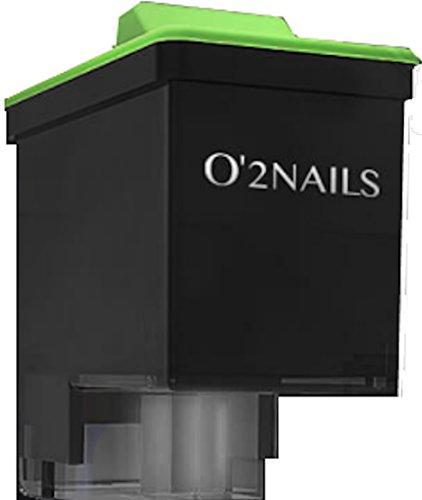 1 cartucho de tinta de repuesto SM10 para impresora de uñas de O\'2 MOBILEN X11 y V11: para 700 hasta 800 clavos.