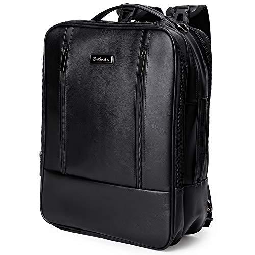 [ボスタンテン]BOSTANTEN リュック メンズ ビジネスリュック 15.6インチ PC バックパック 大容量 二層メイン室 3way 通勤 出張 旅行 通学(ブラック)