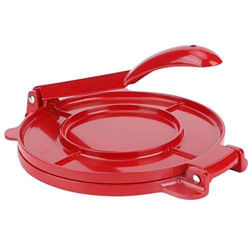 Ladieshow 8in Tortilla Maker Aluminiumlegierung Mehl Teigpresse Werkzeuge Küche Backzubehör