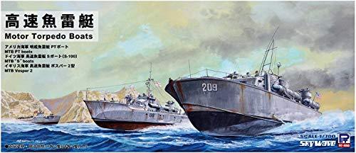 ピットロード 1/700 スカイウェーブシリーズ 高速魚雷艇 プラモデル SW02