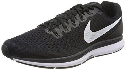 Nike Mens Air Zoom Pegasus 34 Black/White/Dark Grey/Anthracite Running Shoe (12 D US)