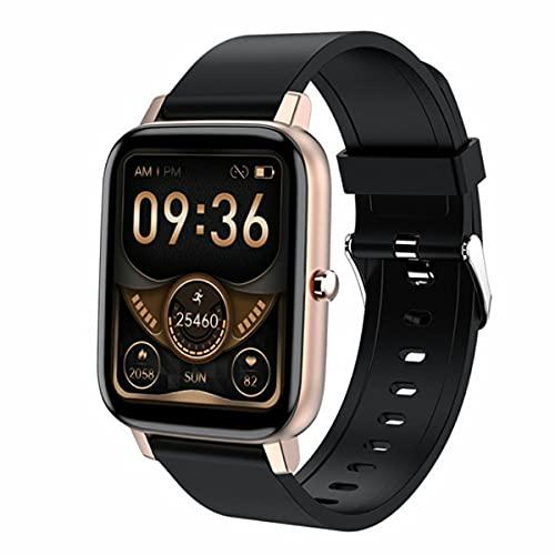 healthwen para H80 IP67 Hombres Mujeres Reloj Inteligente Pulsera de detección de frecuencia cardíaca Modos de sueño prolongado a Prueba de Agua Reloj Deportivo Deportivo