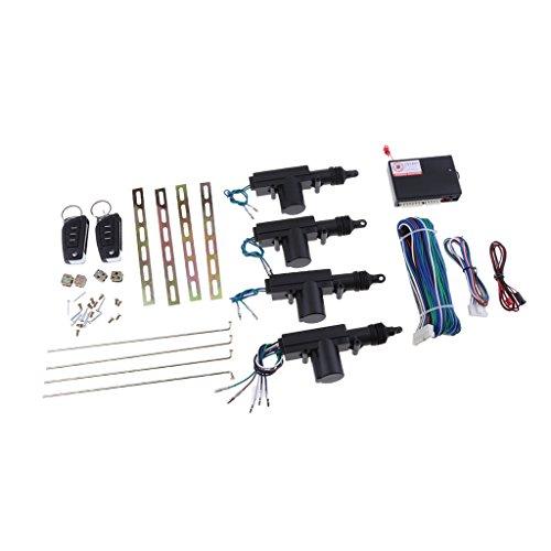 Sharplace Kit de Conversion Module Verrouillage Puissance 4 Portes Télécommande de Voiture