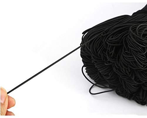 SHIYONG Cuerda elástica Fuerte Banda de Goma para Coser Prendas de Vestir Suministros para Manualidades Banda elástica para Accesorios de Costura DIY