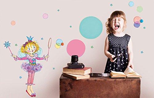 Wandtattoo Prinzessin Lillifee mit Seifenblasen (70x47cm)