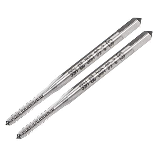 uxcell Metric Machine Tap M10 Thread 1.5 Pitch H2 Accuracy 3 Flutes High Speed Steel