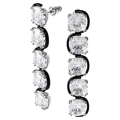 Colección de joyas de Swarovski Harmonia, cristales amarillos, cristales transparentes, Talla única, Metal, cristal,