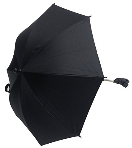 Baby Sonnenschirm kompatibel mit Babylo Laufstall Marco Sky schwarz
