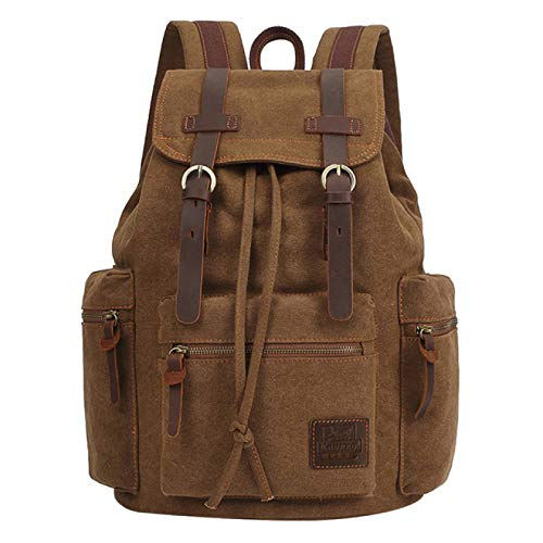 Vintage Canvas Backpacks Men and Women Bags Travel Students Casual for Hiking Travel Camping Backpack