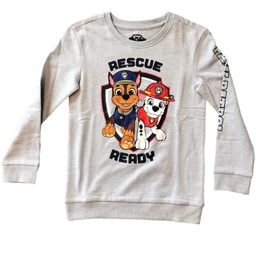 Paw Patrol Pullover Kinder Oberteil Paw Patrol Kleidung Junge Sweatshirt Sweater Grau Bekleidung Mit ÖKO TEX Standard 100
