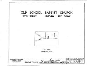 HistoricalFindings Photo: Old School Baptist Church,Main Street,Hopewell,Mercer County,NJ,New Jersey,2