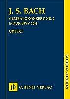 Harpsichord Concerto no. 2 E major BWV 1053 / Studien-Edition (Taschenpartitur): Instrumentation: Orchestral works, Piano Concertos