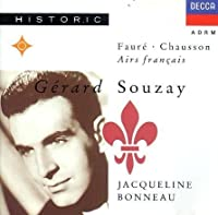 Gerard Souzay Sings Faure & Chausson by Gerard Souzay