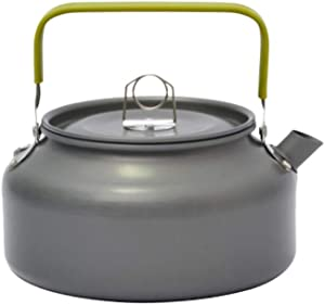 BESPORTBLE Kettle Teapot Stovetop Teapot Kettle Coffee Pot for Fishing Camping Hiking Outdoor Grey