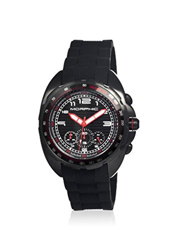 Morphic Uhr mit Japanischem Quarzuhrwerk Mph2504 schwarz 43 mm
