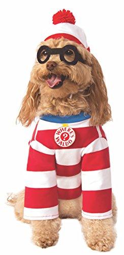 Rubie's Where's Waldo Pet Costume, Large